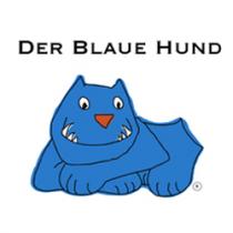Der blaue Hund hilft Beissunfälle mit Kindern zu vermeiden